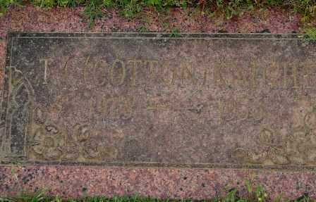 KNIGHT, T. C. (COTTON) - Pulaski County, Arkansas | T. C. (COTTON) KNIGHT - Arkansas Gravestone Photos