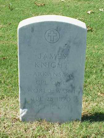 KNIGHT (VETERAN WWI), JAMES - Pulaski County, Arkansas | JAMES KNIGHT (VETERAN WWI) - Arkansas Gravestone Photos