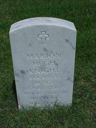 KNIGHT (VETERAN WWII), MARION HUGH - Pulaski County, Arkansas | MARION HUGH KNIGHT (VETERAN WWII) - Arkansas Gravestone Photos