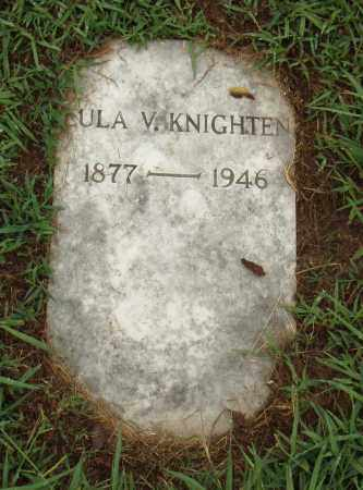 KNIGHTEN, LULA V. - Pulaski County, Arkansas | LULA V. KNIGHTEN - Arkansas Gravestone Photos