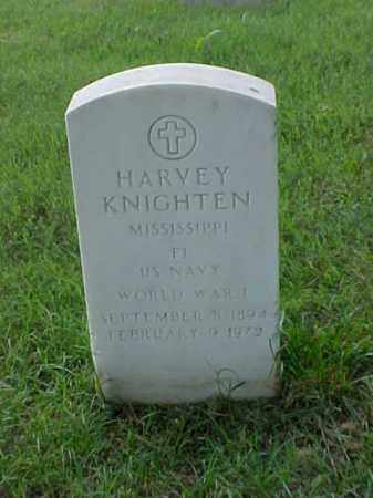 KNIGHTEN (VETERAN WWI), HARVEY - Pulaski County, Arkansas | HARVEY KNIGHTEN (VETERAN WWI) - Arkansas Gravestone Photos