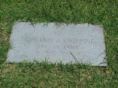 KNIPPING (VETERAN WWII), HOWARD J - Pulaski County, Arkansas | HOWARD J KNIPPING (VETERAN WWII) - Arkansas Gravestone Photos