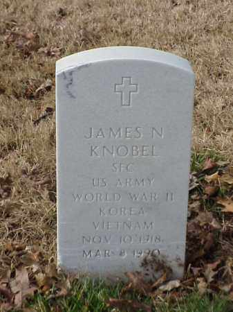 KNOBEL (VETERAN 2 WARS), JAMES N - Pulaski County, Arkansas | JAMES N KNOBEL (VETERAN 2 WARS) - Arkansas Gravestone Photos
