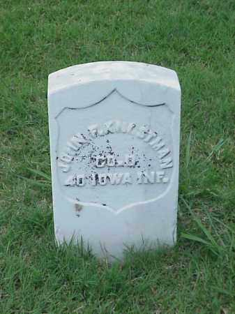 KNOSTMAN (VETERAN UNION), JOHN F - Pulaski County, Arkansas | JOHN F KNOSTMAN (VETERAN UNION) - Arkansas Gravestone Photos