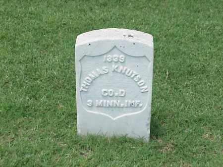 KNUTSON (VETERAN UNION), THOMAS - Pulaski County, Arkansas | THOMAS KNUTSON (VETERAN UNION) - Arkansas Gravestone Photos