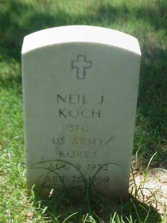 KOCH (VETERAN KOR), NEIL J - Pulaski County, Arkansas | NEIL J KOCH (VETERAN KOR) - Arkansas Gravestone Photos