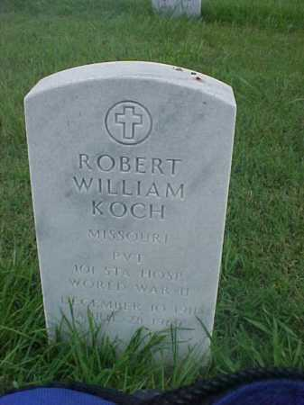 KOCH (VETERAN WWII), ROBERT WILLIAM - Pulaski County, Arkansas | ROBERT WILLIAM KOCH (VETERAN WWII) - Arkansas Gravestone Photos