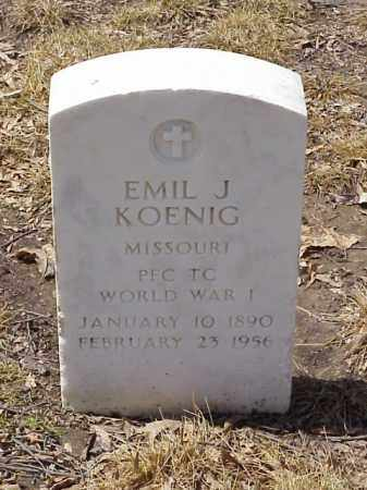 KOENIG  (VETERAN WWI), EMIL J - Pulaski County, Arkansas | EMIL J KOENIG  (VETERAN WWI) - Arkansas Gravestone Photos