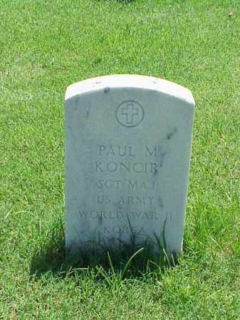 KONCIR (VETERAN 2 WARS), PAUL M - Pulaski County, Arkansas | PAUL M KONCIR (VETERAN 2 WARS) - Arkansas Gravestone Photos