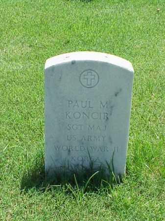 KONCIR (VETERAN 2 WARS), PAUL M - Pulaski County, Arkansas | PAUL M KONCIR (VETERAN 2 WARS) - Arkansas Gravestone Photos