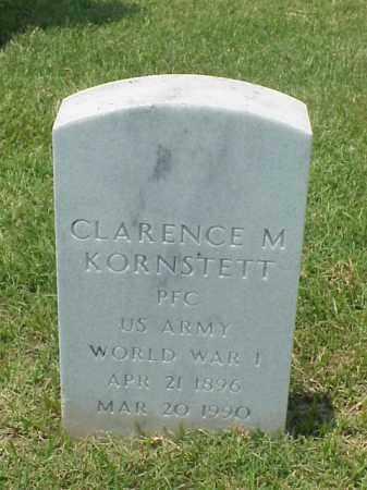 KORNSTETT (VETERAN WWI), CLARENCE M - Pulaski County, Arkansas | CLARENCE M KORNSTETT (VETERAN WWI) - Arkansas Gravestone Photos