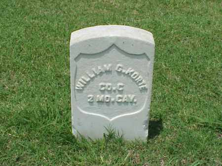 KORTE (VETERAN UNION), WILLIAM C - Pulaski County, Arkansas | WILLIAM C KORTE (VETERAN UNION) - Arkansas Gravestone Photos