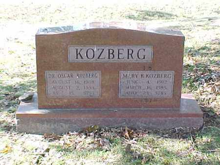 KOZBERG, MD, OSCAR - Pulaski County, Arkansas | OSCAR KOZBERG, MD - Arkansas Gravestone Photos