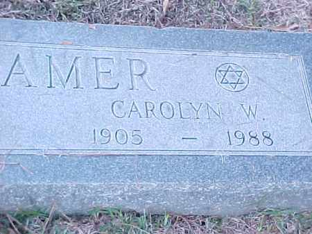 KRAMER, CAROLYN W (2) - Pulaski County, Arkansas | CAROLYN W (2) KRAMER - Arkansas Gravestone Photos