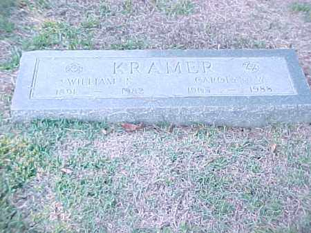 KRAMER, WILLIAM S - Pulaski County, Arkansas | WILLIAM S KRAMER - Arkansas Gravestone Photos