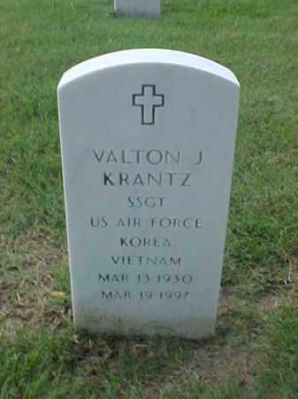KRANTZ (VETERAN 2 WARS), VALTON J - Pulaski County, Arkansas | VALTON J KRANTZ (VETERAN 2 WARS) - Arkansas Gravestone Photos