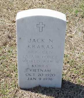KRARAS (VETERAN 3 WARS), JACK N - Pulaski County, Arkansas | JACK N KRARAS (VETERAN 3 WARS) - Arkansas Gravestone Photos