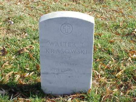 KRASOWSKI (VETERAN WWI), WALTER T - Pulaski County, Arkansas | WALTER T KRASOWSKI (VETERAN WWI) - Arkansas Gravestone Photos