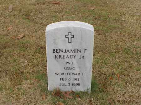 KREADY, JR  (VETERAN WWII), BENJAMIN FRANKLIN - Pulaski County, Arkansas | BENJAMIN FRANKLIN KREADY, JR  (VETERAN WWII) - Arkansas Gravestone Photos