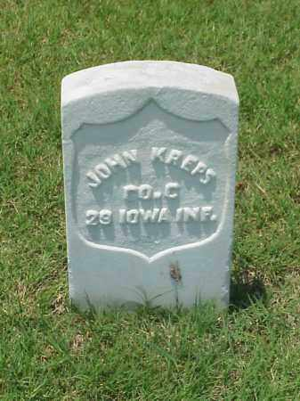 KREPPS (VETERAN UNION), JOHN - Pulaski County, Arkansas | JOHN KREPPS (VETERAN UNION) - Arkansas Gravestone Photos