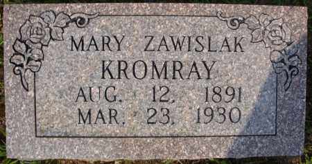 KROMRAY, MARY - Pulaski County, Arkansas | MARY KROMRAY - Arkansas Gravestone Photos