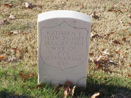 KRULL, KATHRYN E - Pulaski County, Arkansas | KATHRYN E KRULL - Arkansas Gravestone Photos