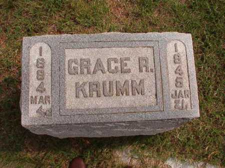 KRUMM, GRACE R - Pulaski County, Arkansas | GRACE R KRUMM - Arkansas Gravestone Photos