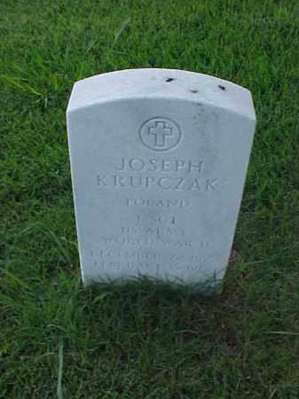 KRUPCZAK (VETERAN WWII), JOSEPH - Pulaski County, Arkansas | JOSEPH KRUPCZAK (VETERAN WWII) - Arkansas Gravestone Photos