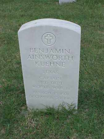 KUEHNE (VETERAN WWII), BENJAMIN AINSWORTH - Pulaski County, Arkansas | BENJAMIN AINSWORTH KUEHNE (VETERAN WWII) - Arkansas Gravestone Photos