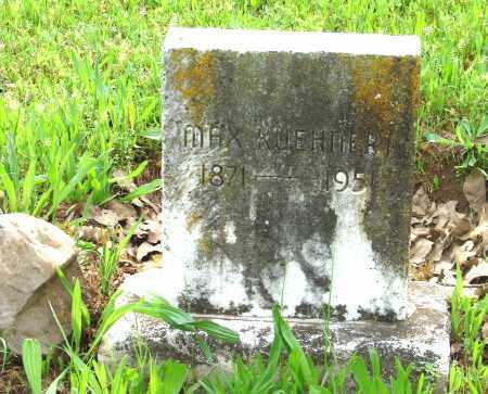 KUEHNERT, MAX - Pulaski County, Arkansas | MAX KUEHNERT - Arkansas Gravestone Photos