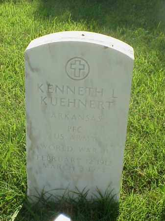 KUEHNERT (VETERAN WWII), KENNETH L - Pulaski County, Arkansas | KENNETH L KUEHNERT (VETERAN WWII) - Arkansas Gravestone Photos