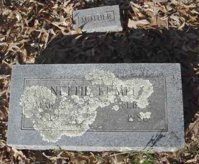 KUMPE, NETTIE - Pulaski County, Arkansas | NETTIE KUMPE - Arkansas Gravestone Photos