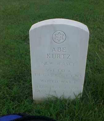 KURTZ (VETERAN WWI), ABE - Pulaski County, Arkansas | ABE KURTZ (VETERAN WWI) - Arkansas Gravestone Photos