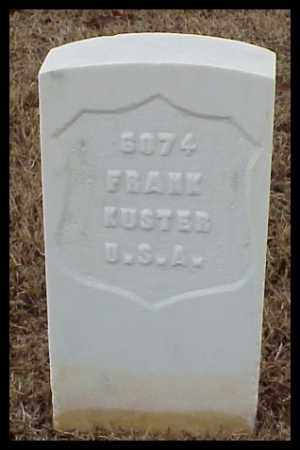 KUSTER (VETERAN SAW), FRANK - Pulaski County, Arkansas | FRANK KUSTER (VETERAN SAW) - Arkansas Gravestone Photos