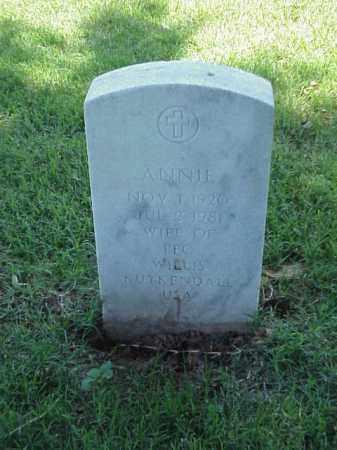 KUYKENDALL, ANNIE - Pulaski County, Arkansas | ANNIE KUYKENDALL - Arkansas Gravestone Photos