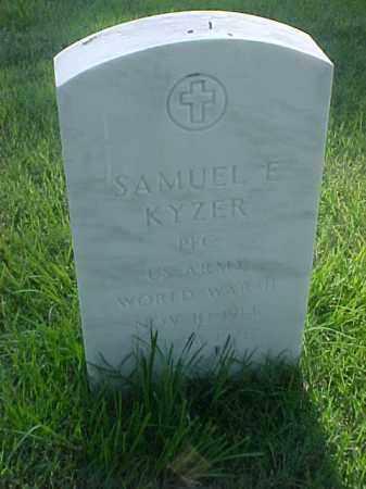 KYZER (VETERAN WWII), SAMUEL E - Pulaski County, Arkansas | SAMUEL E KYZER (VETERAN WWII) - Arkansas Gravestone Photos
