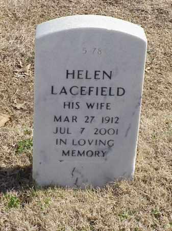 LACEFIELD, HELEN - Pulaski County, Arkansas | HELEN LACEFIELD - Arkansas Gravestone Photos