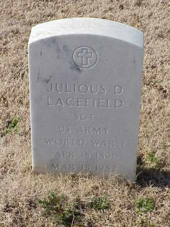 LACEFIELD (VETERAN WWI), JULIOUS D - Pulaski County, Arkansas | JULIOUS D LACEFIELD (VETERAN WWI) - Arkansas Gravestone Photos