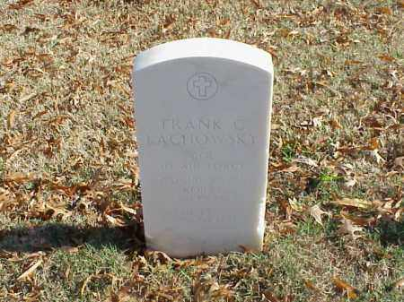 LACHOWSKY (VETERAN 3 WARS), FRANK C - Pulaski County, Arkansas | FRANK C LACHOWSKY (VETERAN 3 WARS) - Arkansas Gravestone Photos