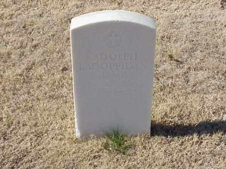 LACOPPIDAN (VETERAN UNION), ADOLPH - Pulaski County, Arkansas | ADOLPH LACOPPIDAN (VETERAN UNION) - Arkansas Gravestone Photos
