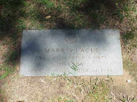 LACUS (VETERAN VIET), MARK S - Pulaski County, Arkansas | MARK S LACUS (VETERAN VIET) - Arkansas Gravestone Photos