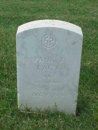 LACY (VETERAN 2 WARS), PAUL J - Pulaski County, Arkansas | PAUL J LACY (VETERAN 2 WARS) - Arkansas Gravestone Photos