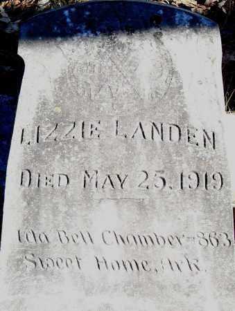 LANDEN, LIZZIE - Pulaski County, Arkansas | LIZZIE LANDEN - Arkansas Gravestone Photos