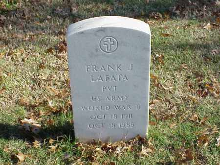 LAFANTA (VETERAN  WWII), FRANK J - Pulaski County, Arkansas | FRANK J LAFANTA (VETERAN  WWII) - Arkansas Gravestone Photos