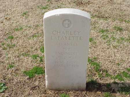 LAFAYETTE (VETERAN WWI), CHARLEY - Pulaski County, Arkansas | CHARLEY LAFAYETTE (VETERAN WWI) - Arkansas Gravestone Photos