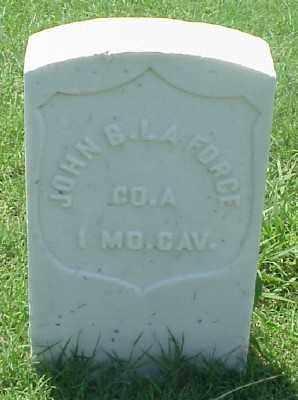 LAFORCE (VETERAN UNION), JOHN B - Pulaski County, Arkansas | JOHN B LAFORCE (VETERAN UNION) - Arkansas Gravestone Photos