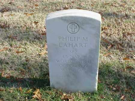 LAHART (VETERAN WWII), PHILIP M - Pulaski County, Arkansas | PHILIP M LAHART (VETERAN WWII) - Arkansas Gravestone Photos