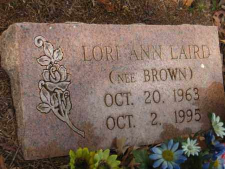 BROWN LAIRD, LORI ANN - Pulaski County, Arkansas | LORI ANN BROWN LAIRD - Arkansas Gravestone Photos