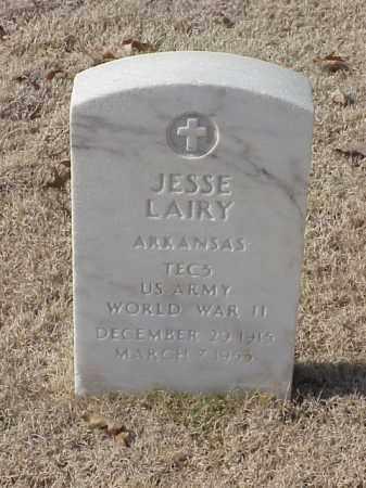 LAIRY (VETERAN WWII), JESSE - Pulaski County, Arkansas | JESSE LAIRY (VETERAN WWII) - Arkansas Gravestone Photos