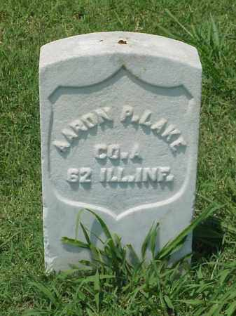 LAKE (VETERAN UNION), AARON P - Pulaski County, Arkansas | AARON P LAKE (VETERAN UNION) - Arkansas Gravestone Photos